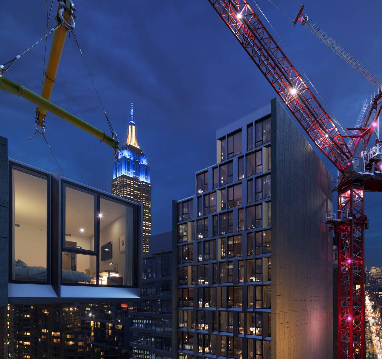 Marriott erigirá el hotel modular más alto del mundo