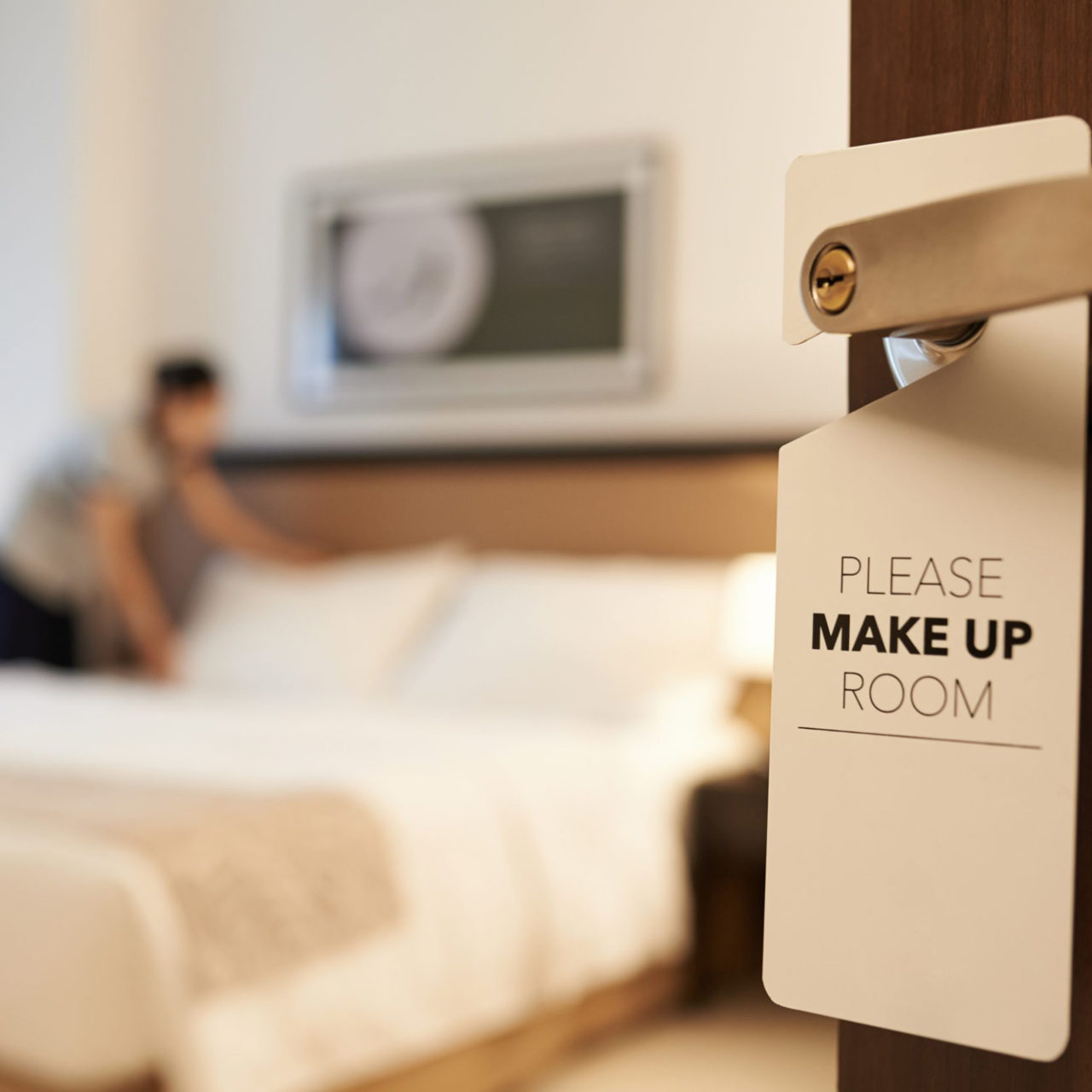 ¿Renunciarán los huéspedes a la limpieza diaria de sus habitaciones?